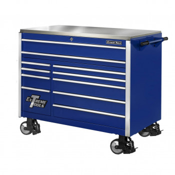 55 Inch 11 Drawer Professional Roller Cabinet