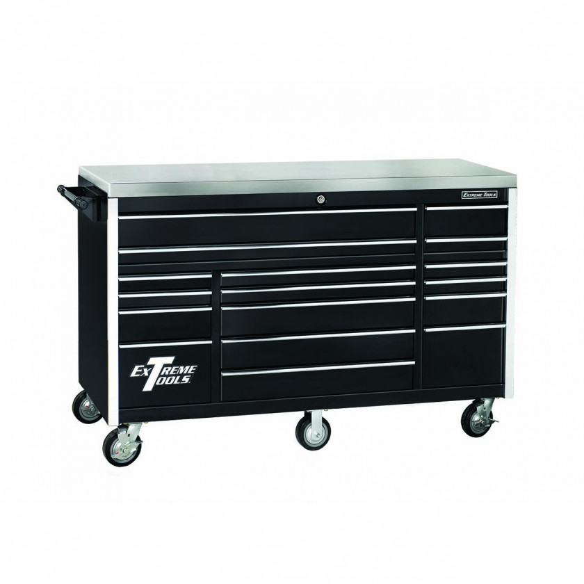72 Inch Wide 30 Inch Deep Triple Bank Roller Cabinet