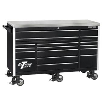 72 Inch Wide 30 Inch Deep Triple Bank Roller Cabinet
