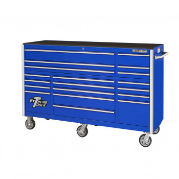 72 Inch Wide 25 Inch Deep Triple Bank Roller Cabinet