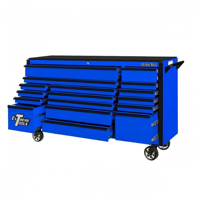 72 Inch 17 Drawer Roller Cabinet