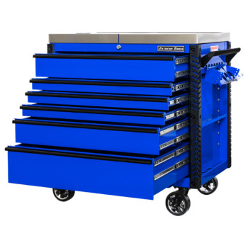 41 Inch 6 Drawer Sliding Top Tool Cart