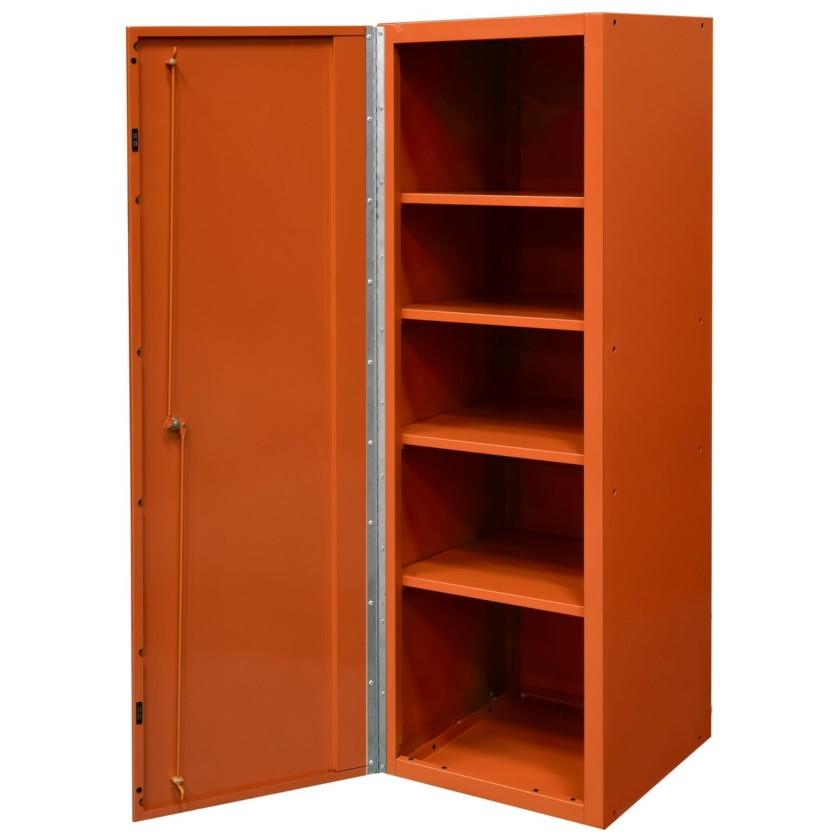 19 inch side locker