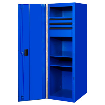 24 inch 3 Drawers and 3 Shelves Side Locker